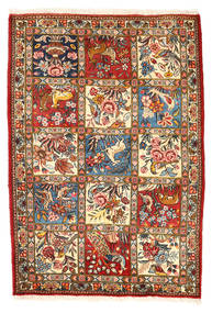 Bakhtiar Collectible Teppe 110X157 Ekte Orientalsk Håndknyttet Mørk Grå/Beige (Ull, Persia/Iran)