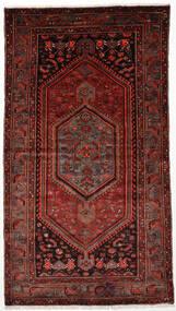 Zanjan Teppe 128X236 Ekte Orientalsk Håndknyttet Mørk Rød (Ull, Persia/Iran)