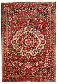 Bakhtiar Collectible Teppe 220X320 Ekte Orientalsk Håndknyttet Mørk Rød/Rust (Ull, Persia/Iran)