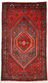 Zanjan Teppe 128X220 Ekte Orientalsk Håndknyttet Mørk Rød/Rust (Ull, Persia/Iran)