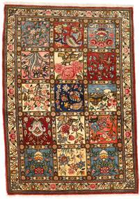 Bakhtiar Collectible Teppe 111X158 Ekte Orientalsk Håndknyttet Mørk Brun/Brun (Ull, Persia/Iran)