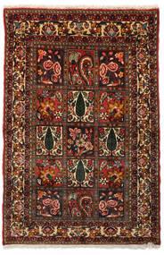 Bakhtiar Collectible Teppe 99X151 Ekte Orientalsk Håndknyttet Mørk Brun/Mørk Rød (Ull, Persia/Iran)