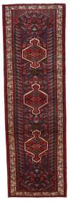 Asadabad Teppe 97X300 Ekte Orientalsk Håndknyttet Teppeløpere Mørk Rød (Ull, Persia/Iran)