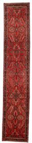 Lillian Teppe 80X418 Ekte Orientalsk Håndknyttet Teppeløpere Mørk Rød/Mørk Brun/Rust (Ull, Persia/Iran)