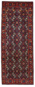 Mahal Teppe 64X164 Ekte Orientalsk Håndknyttet Teppeløpere Mørk Rød/Mørk Blå (Ull, Persia/Iran)