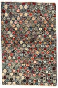 Moroccan Berber - Afghanistan Teppe 116X177 Ekte Moderne Håndknyttet Mørk Grå/Svart (Ull, Afghanistan)