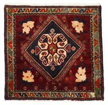 Ghashghai Teppe 56X58 Ekte Orientalsk Håndknyttet Kvadratisk Mørk Rød (Ull, Persia/Iran)