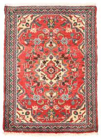 Lillian Teppe 50X70 Ekte Orientalsk Håndknyttet Rød/Rust (Ull, Persia/Iran)