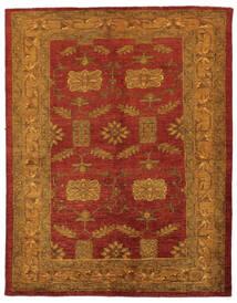 Oriental Overdyed Teppe 144X183 Ekte Moderne Håndknyttet Mørk Brun/Mørk Rød/Beige (Ull, Persia/Iran)