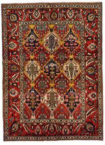 Bakhtiar Teppe 152X211 Ekte Orientalsk Håndknyttet Mørk Brun/Mørk Rød (Ull, Persia/Iran)