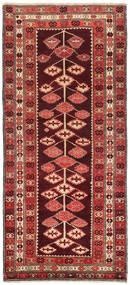 Kelim Karabakh Teppe 132X303 Ekte Orientalsk Håndvevd Teppeløpere Mørk Rød/Rust (Ull, Azerbaijan/Russland)
