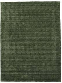 Handloom Gabba - Skogsgrønn Teppe 210X290 Moderne Mørk Grønn (Ull, India)