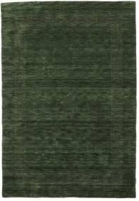 Handloom Gabba - Skogsgrønn Teppe 160X230 Moderne Mørk Grønn (Ull, India)