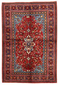 Zanjan Teppe 156X292 Ekte Orientalsk Håndknyttet Mørk Rød/Rust (Ull, Persia/Iran)