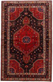 Toiserkan Teppe 141X225 Ekte Orientalsk Håndknyttet Mørk Rød (Ull, Persia/Iran)