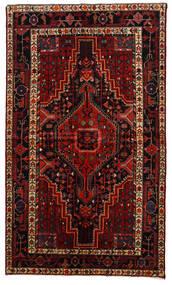 Toiserkan Teppe 145X247 Ekte Orientalsk Håndknyttet Mørk Rød/Mørk Brun (Ull, Persia/Iran)