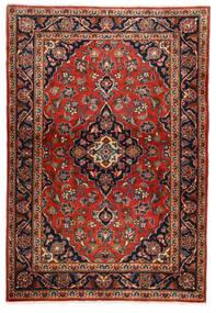 Keshan Teppe 100X146 Ekte Orientalsk Håndknyttet Mørk Brun/Rust (Ull, Persia/Iran)