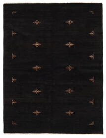 Huttan Teppe 172X225 Ekte Orientalsk Håndknyttet Svart (Ull, Pakistan)