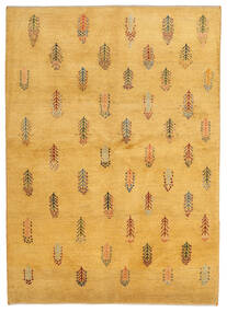 Gabbeh Persia Teppe 145X203 Ekte Moderne Håndknyttet Lysbrun (Ull, Persia/Iran)