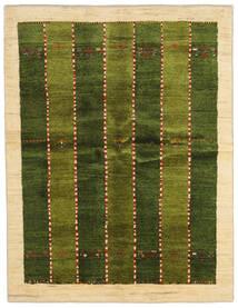 Gabbeh Persia Teppe 146X190 Ekte Moderne Håndknyttet Mørk Grønn/Beige (Ull, Persia/Iran)