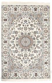 Nain Indisk Teppe 120X182 Ekte Orientalsk Håndknyttet Beige/Lys Grå ( India)