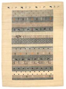 Loribaf Loom Teppe 174X241 Ekte Moderne Håndknyttet Beige/Lys Grå (Ull, India)