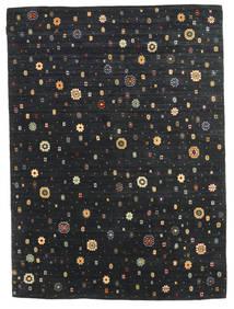 Gabbeh Indisk Teppe 173X240 Ekte Moderne Håndknyttet Svart (Ull, India)