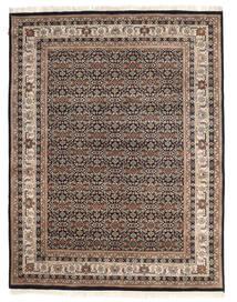 Nain Indisk Teppe 194X250 Ekte Orientalsk Håndknyttet Lys Grå/Beige ( India)