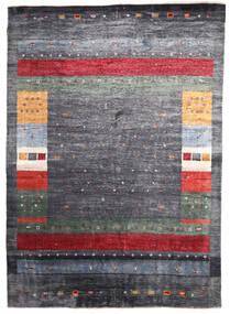 Gabbeh Loribaft Teppe 172X240 Ekte Moderne Håndknyttet Mørk Grå/Lys Grå (Ull, India)