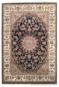 Nain Indisk Teppe 171X249 Ekte Orientalsk Håndknyttet Brun/Gul ( India)