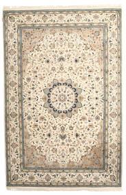 Nain Indisk Teppe 198X300 Ekte Orientalsk Håndknyttet Gul/Lysbrun ( India)