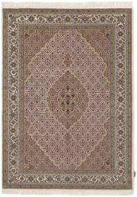 Tabriz Royal Teppe 168X232 Ekte Orientalsk Håndknyttet Mørk Brun/Brun ( India)