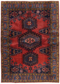 Wiss Patina Teppe 173X239 Ekte Orientalsk Håndknyttet Mørk Rød/Svart (Ull, Persia/Iran)