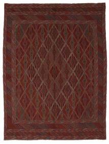Kelim Golbarjasta Teppe 212X280 Ekte Orientalsk Håndvevd Svart (Ull, Afghanistan)