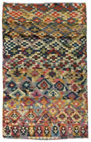 Moroccan Berber - Afghanistan Teppe 117X182 Ekte Moderne Håndknyttet Mørk Grå/Lys Grå (Ull, Afghanistan)