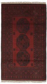 Afghan Teppe 100X174 Ekte Orientalsk Håndknyttet Svart (Ull, Afghanistan)
