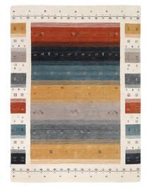 Loribaf Loom Designer - Multi Teppe 160X230 Moderne Svart/Hvit/Creme (Ull, India)