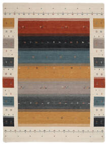 Loribaf Loom Designer - Multi Teppe 210X290 Moderne Svart/Lys Grå (Ull, India)