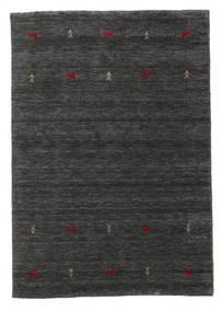 Gabbeh Loom Two Lines - Sekundær Teppe 140X200 Moderne Svart/Beige (Ull, India)
