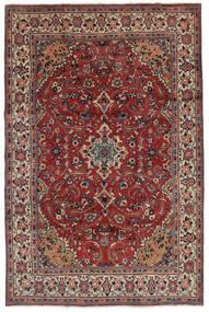 Mahal Teppe 207X319 Ekte Orientalsk Håndknyttet Mørk Brun/Svart (Ull, Persia/Iran)