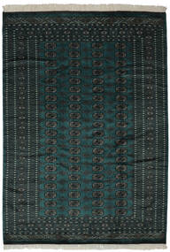 Pakistan Bokhara 2Ply Teppe 190X270 Ekte Orientalsk Håndknyttet Svart (Ull, Pakistan)