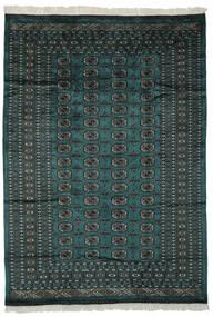 Pakistan Bokhara 2Ply Teppe 180X255 Ekte Orientalsk Håndknyttet Svart/Mørk Grønn (Ull, Pakistan)