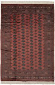 Pakistan Bokhara 2Ply Teppe 192X273 Ekte Orientalsk Håndknyttet Svart/Mørk Brun (Ull, Pakistan)