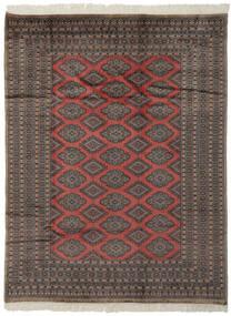 Pakistan Bokhara 2Ply Teppe 184X237 Ekte Orientalsk Håndknyttet Svart/Mørk Brun (Ull, Pakistan)