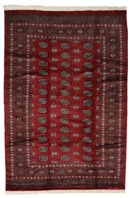 Pakistan Bokhara 3Ply Teppe 191X280 Ekte Orientalsk Håndknyttet Svart/Mørk Rød (Ull, Pakistan)