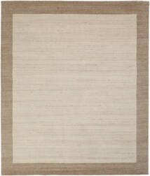 Handloom Frame - Natural/Sand Teppe 250X300 Moderne Lysbrun/Lys Grå/Mørk Brun Stort (Ull, India)