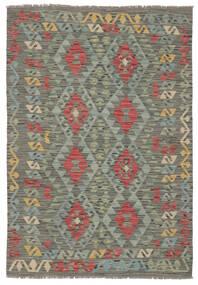 Kelim Afghan Old Style Teppe 125X177 Ekte Orientalsk Håndvevd (Ull, Afghanistan)