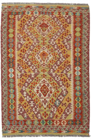 Kelim Afghan Old Style Teppe 122X184 Ekte Orientalsk Håndvevd (Ull, Afghanistan)
