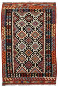 Kelim Afghan Old Style Teppe 120X183 Ekte Orientalsk Håndvevd (Ull, Afghanistan)