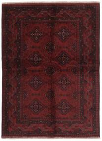 Afghan Khal Mohammadi Teppe 147X200 Ekte Orientalsk Håndknyttet Svart (Ull, Afghanistan)